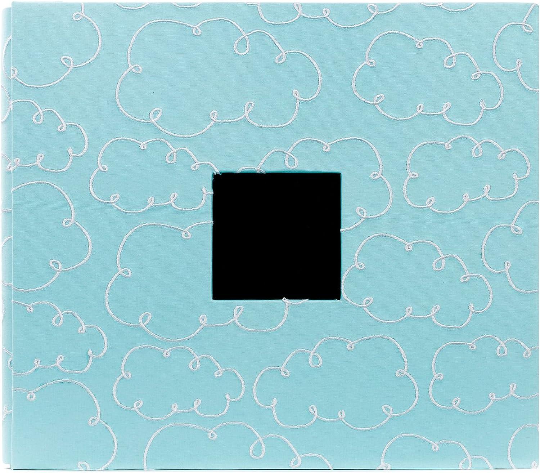 American Crafts Einsteckalbum, 30,5 x 30,5 cm Blau with Clouds B005P1S1JG  | Günstig