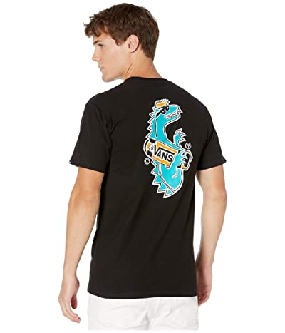 Vans Vanosaur Short Sleeve T-Shirt (Black) Men