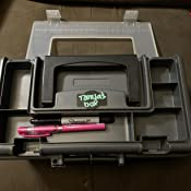 Graphite Gray with Black Handle and Latches Plano Molding 114-002 13-Inch Compact Tool Box