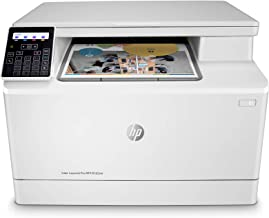 HP Color LaserJet Pro M182nw Wireless All-in-One Laser Printer, Remote Mobile Print, Scan & Copy (7KW55A)