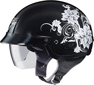 HJC 486-952 IS-2 Blossom Motorcycle Half-Helmet (MC-5, Small)