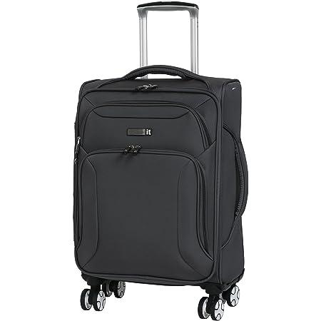 68 cm it luggage Fascia 8 Wheel Lightweight Semi Expander Suitcase Medium with TSA Lock Valise