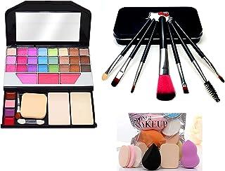 TYA Makeup Kit 6155 + Black Hello Kitty Brush+ Beauty Makeup Sponges