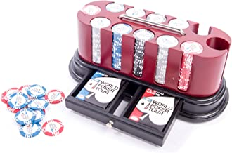 Authentic Apparel WPT - World Poker Tour - Professional Poker Chip Sets - 300 and 500 (300)