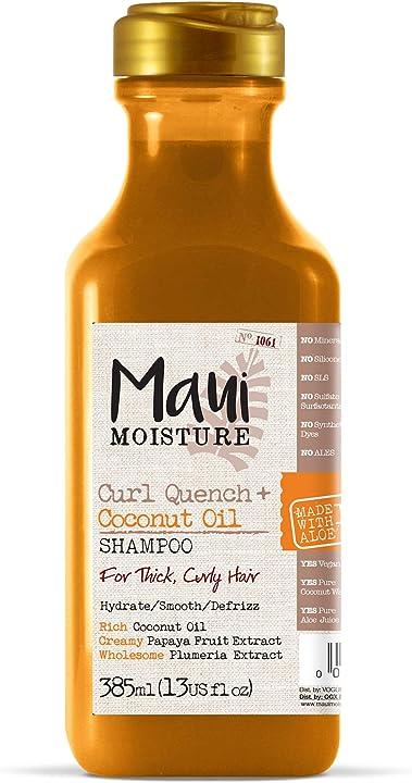 Maui moisture curl quench + coconut oil shampoo 385 ml 6200600