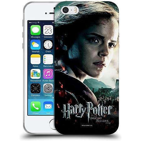Officiel Harry Potter Hermione Granger Deathly Hallows VIII Coque en Gel Doux Compatible avec Apple iPhone 5 / iPhone 5s / iPhone Se 2016