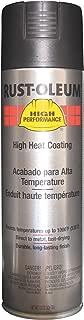 Rust-Oleum V2176838 V2100 System High Heat Spray Paint, 15-Ounce, Black