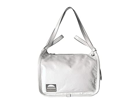 Sport Leather Tote, Porcelain