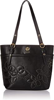 Vern Quilted Micro Studded Pocket Tote