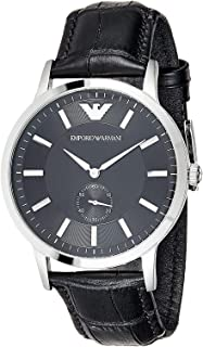 Emporio Armani Casual Watch For Men Analog Leather - AR9100