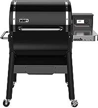 Weber 22510001 SmokeFire EX4 Wood Fired Pellet Grill, Black
