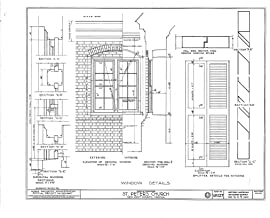 Historic Pictoric Structural Drawing HABS VA,64-TUN.V,4- (Sheet 6 of 9) - St. Peter's Church, State Route 642, Tunstall, New Kent County, VA 55in x 44in