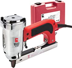 "ROBERTS 10-600 3/16"" Crown, 120V, 15-Amp, 20 Gauge Electric Stapler with Carrying Case, Red"