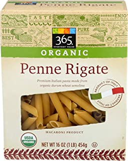 365 Everyday Value, Organic Penne Rigate, 16 oz