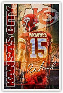 3ft x 2ft Kansas City Chiefs Canvas Painting