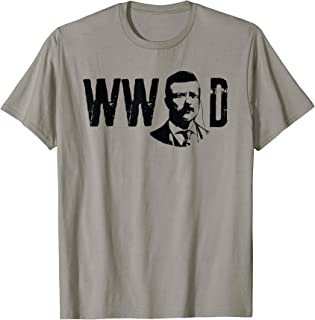 President Teddy Roosevelt Shirt Vintage Political T-Shirt