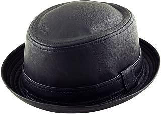 Adult Pork Pie Trilby Fedora Scottish Tartan Check Hat Band Unisex Breaking Bad Heisenberg Style Red