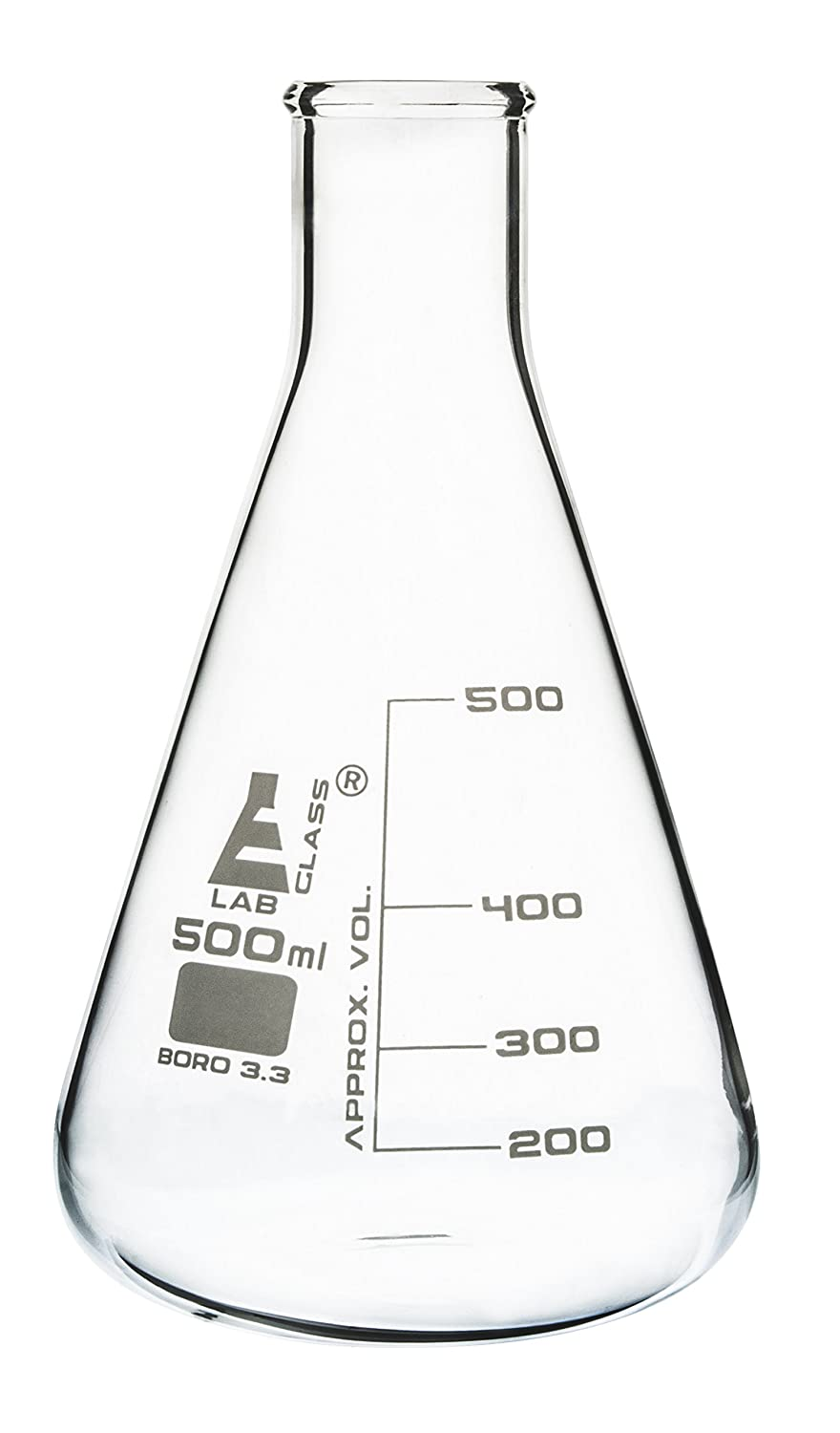 Erlenmeyer Flask 500ml - Oklahoma City Mall Borosilicate Glass Coni Manufacturer direct delivery Neck Narrow