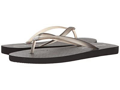 Tommy Bahama Whykiki Flat Solid (Black 2) Women