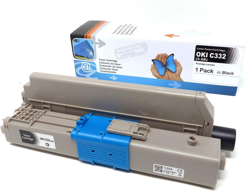 5er Toner Ersetzt C332 Für Oki Data C332 Mc 363 Series Bürobedarf Schreibwaren