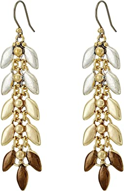Lucky Brand - Leaf Linear Earrings