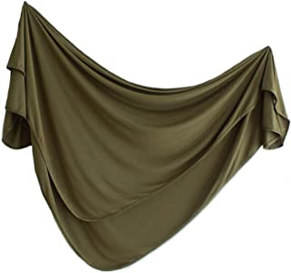 Jersey Swaddle Blanket, Baby Cover,Army Green, Boys or Girls Styles. by Lubella Supply Company (Olive)
