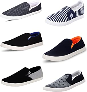 SCATCHITE Pack of 6 Footwear (Loafers & Moccasins & Casual Shoes)
