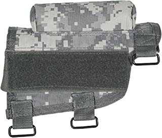 VooDoo Tactical 20-9421075000 Buttstock Cheek Piece with Ammo Carrier, Army Digital