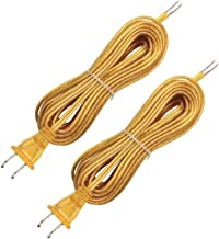 Westinghouse 7010300 Pack of 2 SPT-1 Gold Cord Set -15'