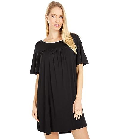 Kate Spade New York Evergreen Sleepshirt (Black) Women