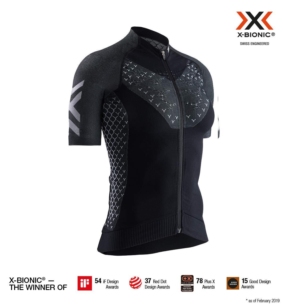 X-Bionic Invent 4.0 Lt T-Shirt Arctic White/Dolomite Grey L