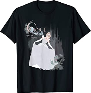Disney Princess Cinderella Vintage Once Upon a Time T-Shirt