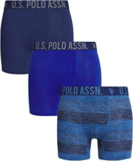 U.S. Polo Assn. Men's Comfort Stretch Boxer Brief (3 Pack)