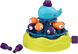 B. Toys – Whirly Whale Sprinkler – Summer and Water Toys for Kids – 2 Years +