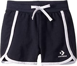 Converse Kids Girl's Star Chevron Track Shorts (Little Kids)