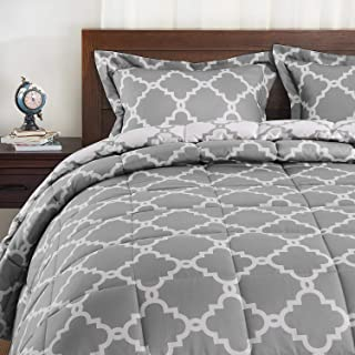 Best grey white and yellow comforter Reviews