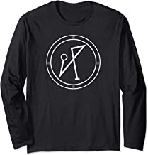 Archangel Michael Sigil PROTECTION COURAGE Long Sleeve T-Shirt