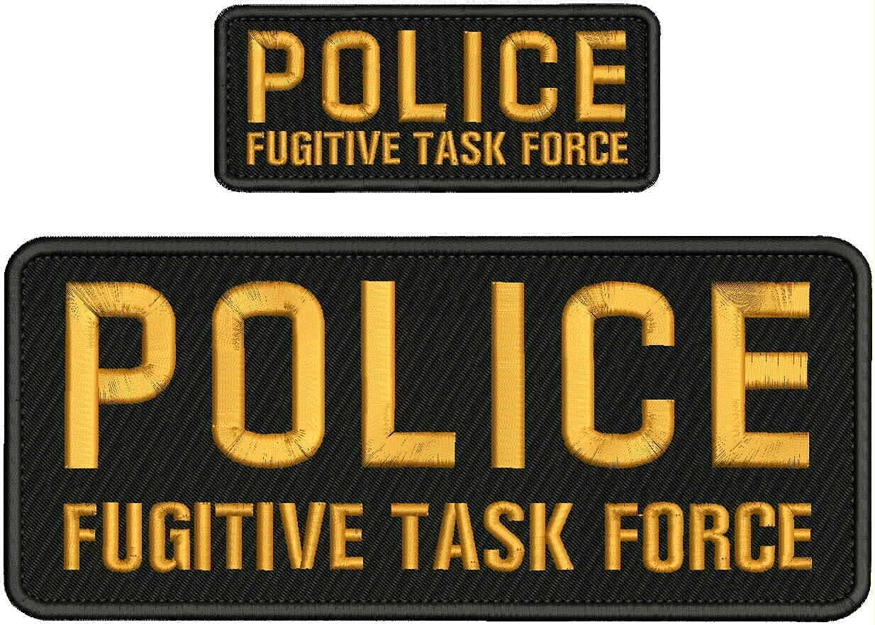 Albuquerque Mall Embroidered Patch - Patches for Regular dealer Women Fugitive Man Police Task
