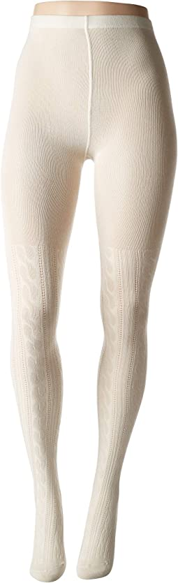 Cable Sweater Tights