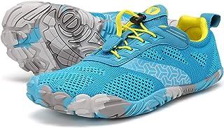 JOOMRA Minimalist Trail Running Tennis Shoes Walking Women Wide Camping Athletic Hiking Trekking Toes Gym Workout Sneakers...