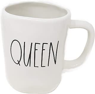 Rae Dunn by Magenta QUEEN Ceramic LL Coffee Mug
