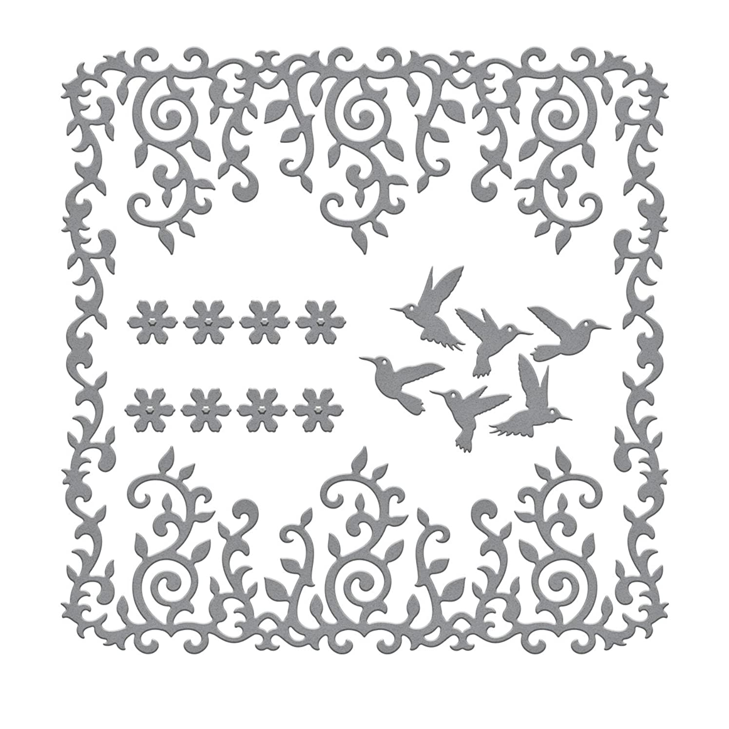 Spellbinders S6-029 Shapeabilities Draping Vines Frame Etched/Wafer Thin Dies