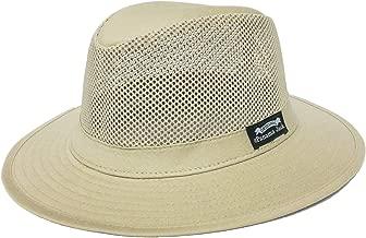 Panama Jack Mens Mesh Safari Sun Hat