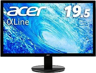 Acer モニター ディスプレイ AlphaLine 19.5インチ K202HQLAbi TN 非光沢 1366x768 5ms HDMI D-Sub フリッカーレス ブルーライト軽減