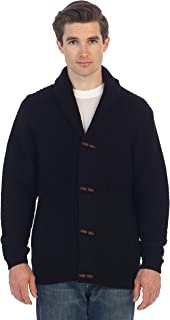Men's Toggle Button Cardigan Knitted Sweater