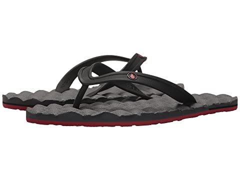 2 Pewter Rubber Volcom Sandal Recliner EvwXwqH