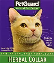 PetGuard Herbal Cat Collar Scented with Essential Oils, One Collar