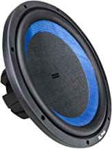 Hifonics Alpha HAW15D4 –15 Inch Subwoofer, DVC Car Audio, 1400 Watt, Dual 4 Ohm, 2.5 Inch Voice Coils with a Woven Glass Cone, Light Weight Sub