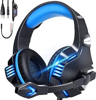 【令和 モデル】 ゲーミングヘッドセット ps4 ヘッドセット 有線 高音質 LED マイク付き switch FPS PC ヘッドホン マイク ノイズキャンセリング へっどセット 重低音 強化 騒音抑制 軽量 伸縮可能 男女兼用 Nintendo/Switch/Xbox One/PUBGに最適