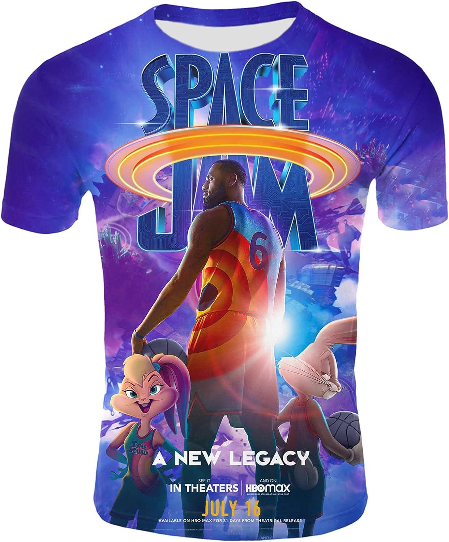 Ycxmtd Product Men's Shirt Basketball Star Printed T-Shirt 3D Mov Ranking integrated 1st place Shirts